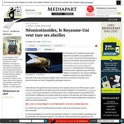 Néonicotinoïdes, le Royaume-Uni veut tuer ses abeilles