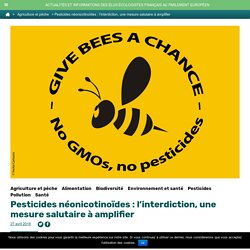Pesticides néonicotinoïdes : l'interdiction, une mesure salutaire à amplifier