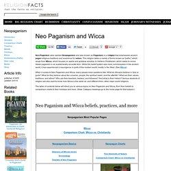 Neopaganism, Paganism, Neo-Paganism