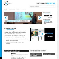 Néopassaction — 3-Ifé - Plateforme néo-titulaires - NéoPass@ction