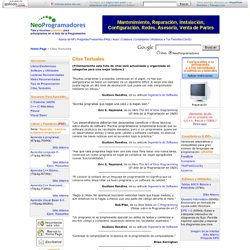 NeoProgramadores - Citas Textuales