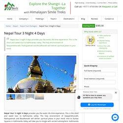 Nepal Tour 3 night 4 days : Guided by Himalayan Smile Treks