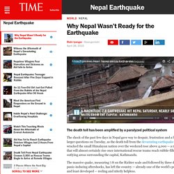 Why Nepal Wasn't Ready for the Earthquake