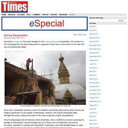 Saving Swayambhu