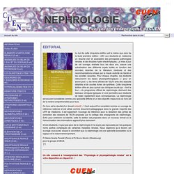 Nephrologie