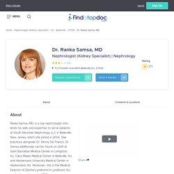 Ranka Samsa, MD, Nephrologist (Kidney Specialist)