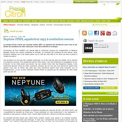 Neptune FINIS, aqualecteur mp3 à conduction osseuse