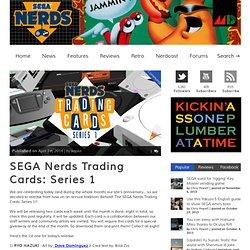 SEGA Nerds Trading Cards: Series 1