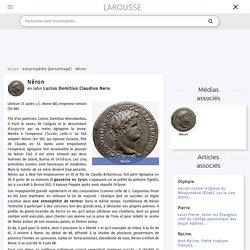 Néron , en latin Lucius Domitius Claudius Nero