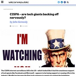 CISPA – are tech giants backing off nervously? - Ireland's CIO and strategy news and reports service