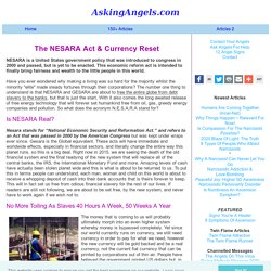 The NESARA ACT - Meaning, Law And Currency Reset