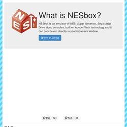 NESbox - play NES, SNES, SEGA games online!