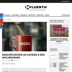 Nescafé envoie un caféier à des influenceurs - Influenth