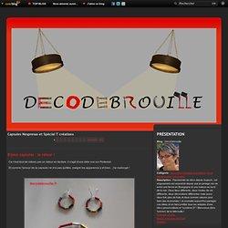 Capsules Nespresso créations - Bracelets avec des… - Personnage en… - Personnage en… - Saint-Valentin - Personnage en…