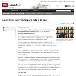 Nespresso: il y a 20 ans, après le café soluble, la Suisse inventait le café en capsules