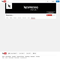 nespresso's Channel