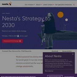 Mélodie - Nesta's Strategy to 2030