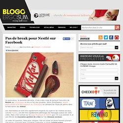 Pas de break pour Nestlé sur Facebook