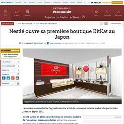 Nestlé ouvre sa première boutique KitKat au Japon
