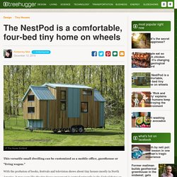 The NestPod is a comfortable, four-bed tiny home on wheels