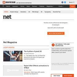 .net magazine | The world's best-selling magazine for web designers and developers since 1994