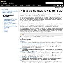 .NET Micro Framework Platform SDK