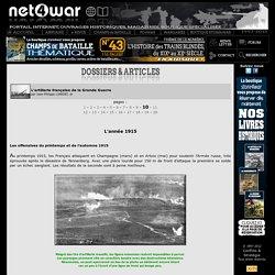 Net4war L'artillerie française de la Grande Guerre, l'année 1915