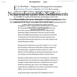Netanyahu and the Settlements