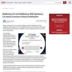 NetBackup 8.2 and NetBackup 5240 Appliance 3.2 rec...
