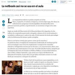 La netbook casi no se usa en el aula - 24.03.2012