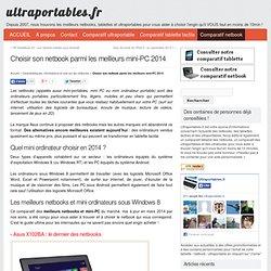 Liste des netbooks et ultraportables