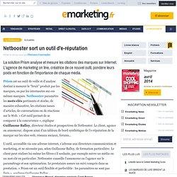Netbooster sort un outil d'e-réputation