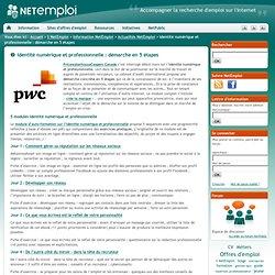 Identité numérique et professionnelle : démarche en 5 étapes