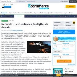 Netexplo : Les tendances du digital de demain