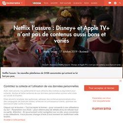 Netflix l'assure : Disney+ et Apple TV+ n'ont pas de contenus aussi bons et variés - Business