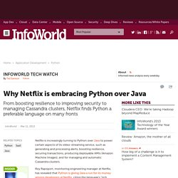 Why Netflix is embracing Python over Java