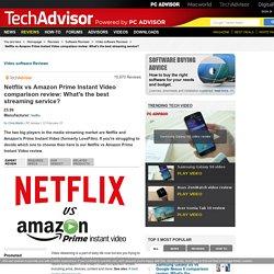 Netflix vs Amazon Prime Instant Video