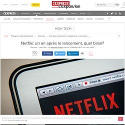 Netflix: un an après le lancement, quel bilan?
