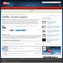 Netflix : le prix à payer - ZDNet