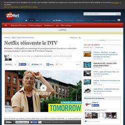 Netflix réinvente le DTV