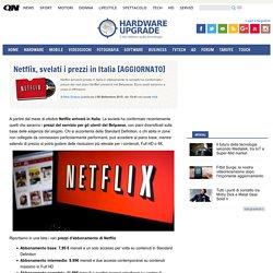 Netflix, svelati i prezzi in Italia [AGGIORNATO]