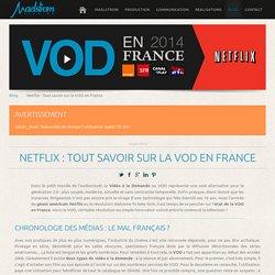 Netflix : Tout savoir sur la VOD en France