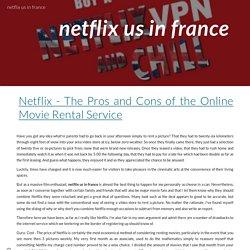 netflix us in france