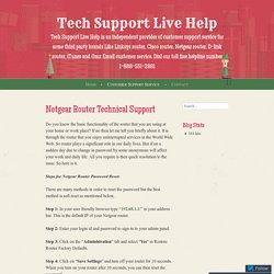 Netgear Router Technical Support