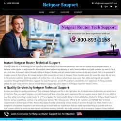 Netgear Technical Support