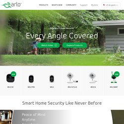 Arlo by NETGEAR - Security Cameras and Systems