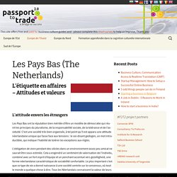 Les Pays Bas (The Netherlands) - Business Culture (FR)