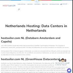 Netherlands Hosting: Data Centers in Netherlands
