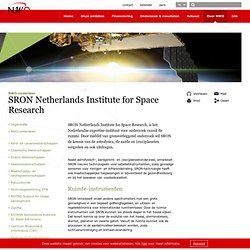 NWO: SRON Netherlands Institute for Space Research
