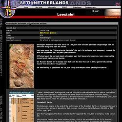 de ediacarische periode(542 - 600 miljoen jaar geleden); nieuwe periode